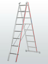Hymer Two Section Combination Ladder 2x8 - Nylon Straps - Stable - Trade - New