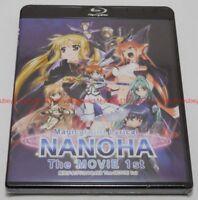 New Magical Girl Lyrical Nanoha The MOVIE 1st Blu-ray Japan English Subtitles