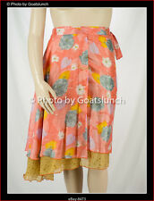 Byron Bay Ethnic Festival Silk Wrap Skirt Size 14-16