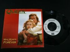 """7"""" Vinyl single Queen Who wants to live forever (UK) 1986"""