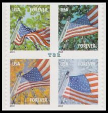 4782b-85b 4785g A Flag For All Seasons Block 8 Double-Sided Forever MNH -Buy Now