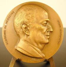Médaille à Jean Malmejac Professeur à d'Alger 1975 Marseille sc Belmondo medal