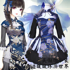Cosplay Game Lolita Sweet Costume lolita Chinese Style Tradition Hanfu Dresses