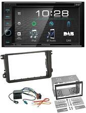 Kenwood USB DVD DAB MP3 Bluetooth 2DIN Autoradio für Skoda Fabia Octavia II Rapi