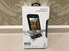 GENUINE Lifeproof Nuud Waterproof Shock Case Cover for iPhone 6S Plus in Black