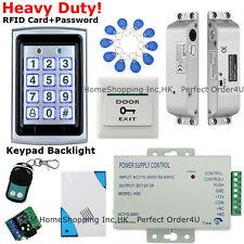 US 125KHz RFID Card+Password Door Access Control System+Drop Bolt Lock+Doorbell