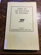 New ListingIndex to the 1820 census of Tennessee Bentley Genealogy History