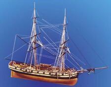 "Elegant, Intricate Wooden Model Ship Kit by Caldercraft: the ""HMS Jalouse"""