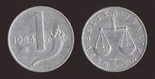1 LIRA 1954 CORNUCOPIA E BILANCIA - ITALIA