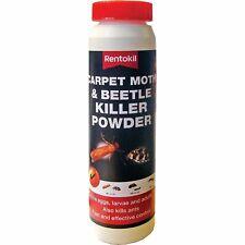 More details for rentokil psc50 carpet moth and beetle killer powder