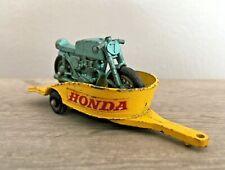 Matchbox Lesney No.38 Honda Trailer & Bike