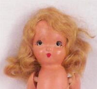 Vintage Nancy Ann Storybook Doll All Bisque No Dress