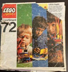 LEGO Catalogue assortiment 1972