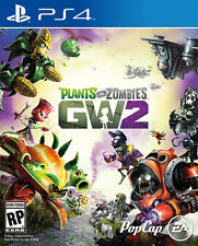 Plants vs Zombies Garden Warfare 2 PS4 Game GW2 Physical Game Disc New & Sealed