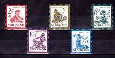 NETHERLANDS 1950 Child welfare set MLH
