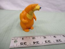 Subway bear in big blue house part toy yellow Hensonarms & head move push button