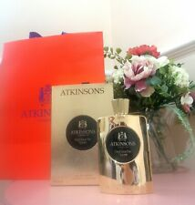 ATKINSONS Oud Save The Queen EDP 100ml perfume spray 🌺 boxed authentic RRP £165