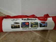 Tailbrella Hitch Canopy Tailgater 9FT Outdoor Camping Water-Resistant Shade Red