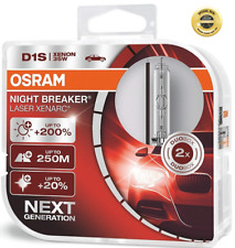 D1S OSRAM DUO BOX Xenon LASER NIGHT BREAKER XENARC Osram 66140