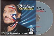 Johnny Hallyday Tous Ensemble CD SINGLE