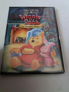 "DVD ""WINNIE THE POOH UNAS NAVIDADES MEGAPOOH"" WALT DISNEY"