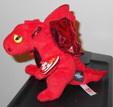 Ty Beanie Baby ~ FIRE the Dragon -Great Wolf Lodge Magiquest Exclusive- NEW MWMT