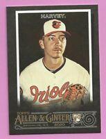2020 Topps Allen & Ginter X Hunter Harvey RC #177 Baltimore Orioles
