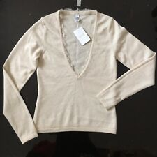 Wolford Cashmere Cream Top , Size S, Brand New With Tags