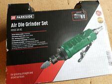 Parkside Air Die Grinder Set PDSS 16 A1 New
