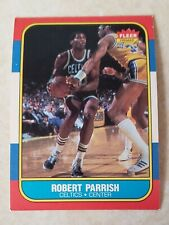 "1986 Fleer Robert Parrish #84 ""Holy Grail Set"" Boston Celtics"