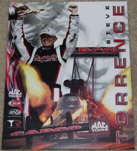 2012 Steve Torrence Capco Top Fuel NHRA postcard