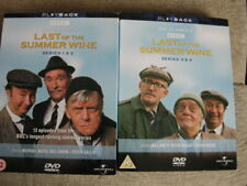 Last of the summer wine - series 1,2,3  & 4 dvds