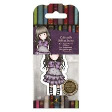 Gorjuss Mini Collectable Stamp #32 Little Violet