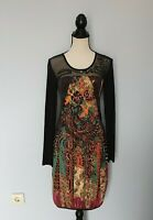 SAVE THE QUEEN  Black Long Sleeves Dress  Size  M