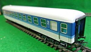Marklin 4032 InterRegio Wagen DB Blue/White 2nd Class w/interior EXC OVP