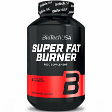 BIOTECH USA SUPER FAT BURNER 120 Tablets - Weight & Fat Loss - Slimming Pills