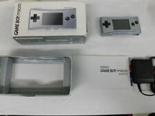 V3205 Nintendo Gameboy micro console Silver Japan w/box adapter x