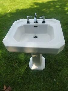 Armitage Shanks Sink And Pedistall