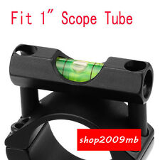 """Spirit Level Bubble Fit 25.4mm/1"""" Scope Mount for Rifle Scope Sight Hunting New"""