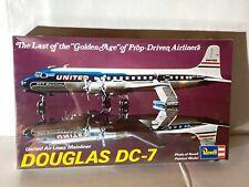 "Old Vintage 1974 Revell Kit No. H-168 DOUGLAS DC-7 ""MAINLINER"" UNITED AIR LINES"