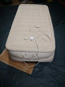 Aerobed Ultra Divan - Singl Size Airbed with Built-In Electric Pump inflatable