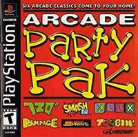 Arcade Party Pak Playstation Game PS1 Used Complete