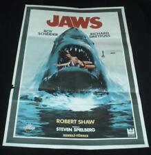 Jaws Turkish movie poster 27x40 Steven Spielberg Unique Art 1975 Rare