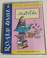 MATILDA Puffin Audio Books Cassettes Read by Miriam Margolyes CLEARANCE SALE