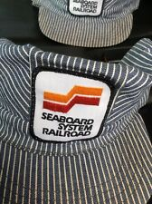 Seaboard System Engineer Hat with Patch Adult Medium Size Washable USA Railroad