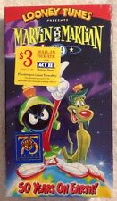 Marvin the Martian & K-9: 50 Years on Earth (NEW SEALED VHS) EXTREMELY RARE!
