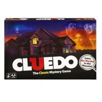 Cluedo The Classic Mystery Board Game-Solve The Murder in the Mansion New Sealed