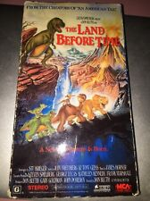 VHS 80864 - The Land Before Time - Universal Home Video - 1988 - Lucas/Spielberg