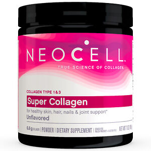NeoCell Super Collagen Type 1 & 3 Powder 7 oz (198 g), FRESH, Made In USA