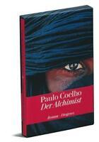 Der Alchimist Paulo Coelho Jubiläumsausgabe Ledereinband signiert signed Leder
